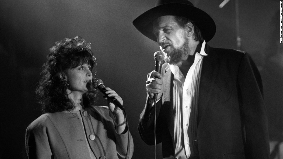 "<strong>Waylon Jennings </strong>and<strong> Jessi Colter:</strong> Before Waylon Jennings died in 2002, the country legend and his partner in life and music, Jessi Colter, had ""a beautiful love affair,"" <a href=""http://www.cmt.com/news/country-music/1680116/jessi-colter-shares-her-wild-ride-of-life-and-music-with-waylon-jennings.jhtml"" target=""_blank"">as Kris Kristofferson once put it</a>. Colter was Jennings' fourth wife, but she says she was the one who truly understood him. ""I just loved him,"" Colter told CMT after his death. ""I loved him! He really entertained me. He made me laugh. He made me feel loved. He inspired me."""