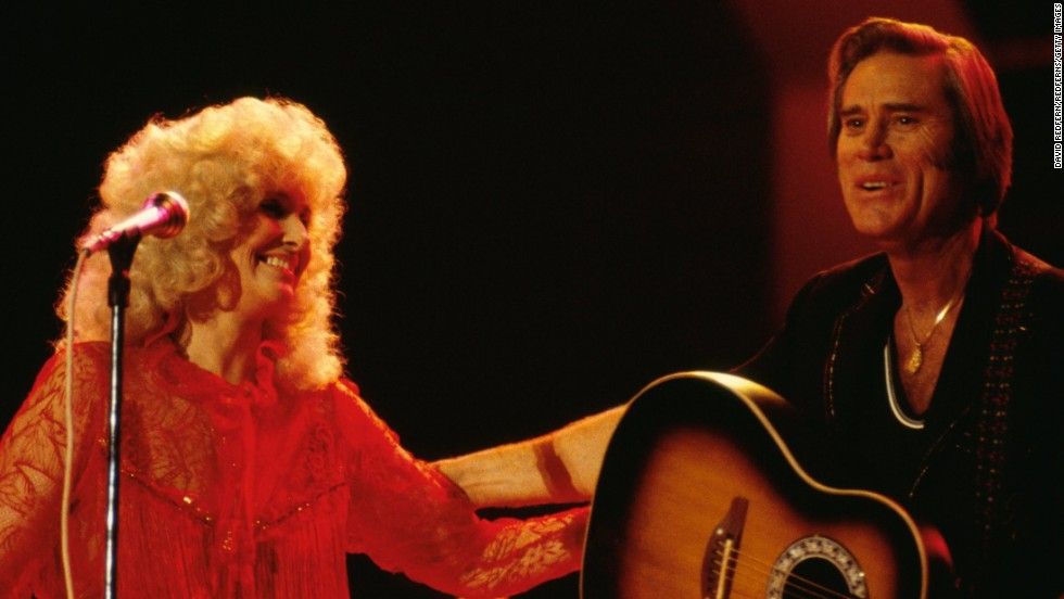 <strong>Tammy Wynette </strong>and<strong> George Jones:</strong> These two didn't make it as husband and wife, but they were always successful as musical partners. The couple wed in 1969 and soon found themselves mired in a difficult marriage, one that was highlighted in some of their songs. Wynette had as hard a time letting go of their union as their fans did; she first filed for divorce in 1973 only to reconsider and then file with more certainty two years later.