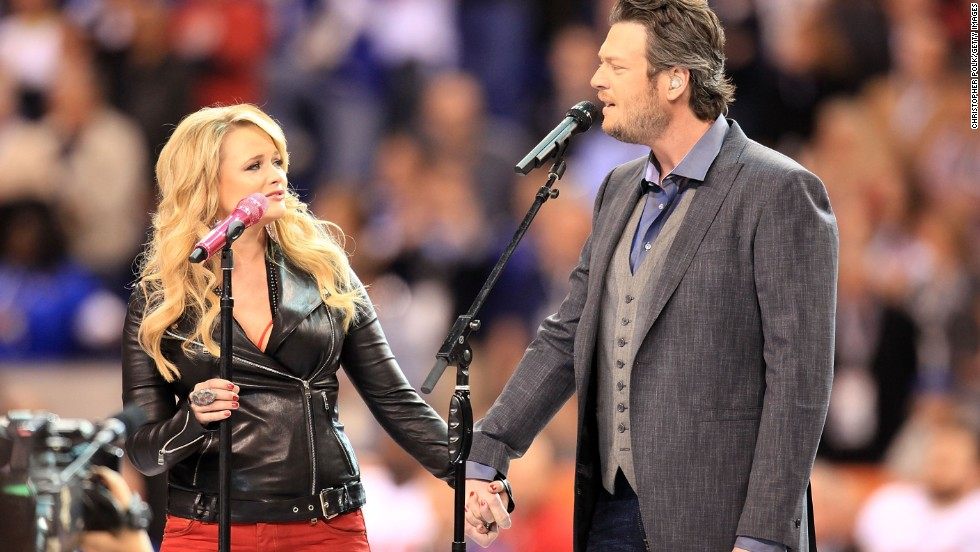 <strong>Miranda Lambert </strong>and<strong> Blake Shelton:</strong> We're pretty sure that if Miranda Lambert and Blake Shelton have a kid, that child's going to come out gold. The musical couple are routinely among country's most celebrated and successful artists, not to mention being individually adored by fans.