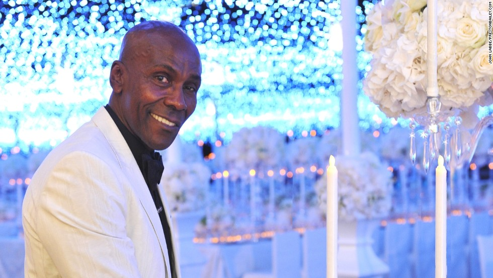 Preston Bailey, himself, was married on Valentine's Day in 2013 to his partner, Theo Bleckmann.