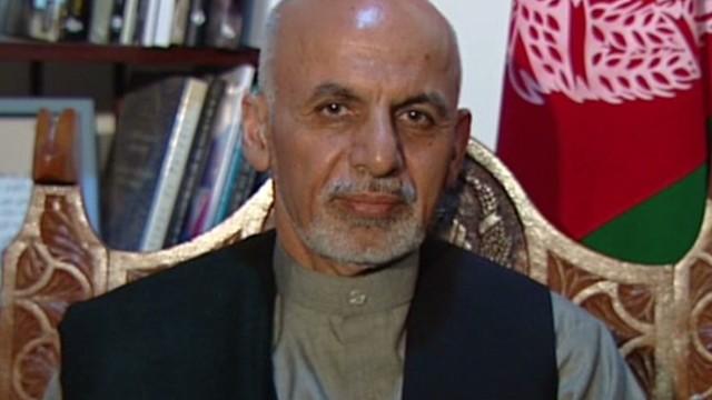 Amanpour interviews Ghani
