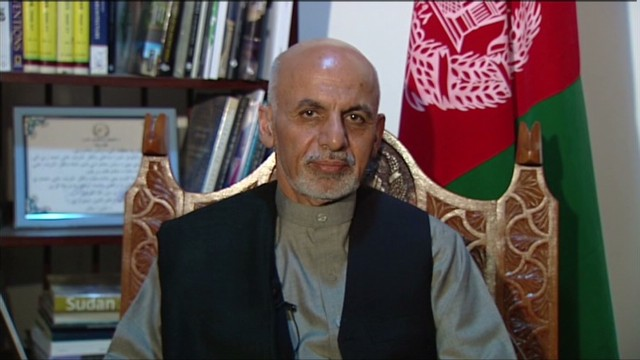 Full interview: Ashraf Ghani