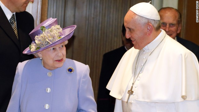 Queen and Pope keep agenda private