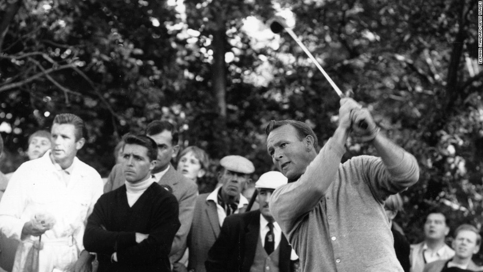 Thanks to his golfing prowess and good looks, Palmer greatly helped to popularize the sport in the 1950s, when television coverage took off.