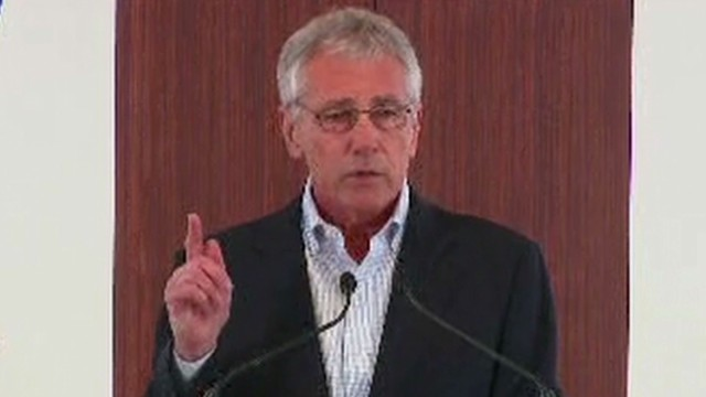 Sec'y Hagel: We take shooting seriously
