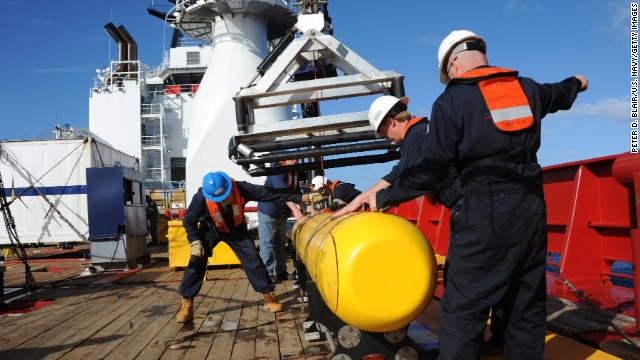 Drone sub searches for Flight MH370