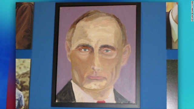nr intv jerry saltz bush paints world leaders_00015717.jpg