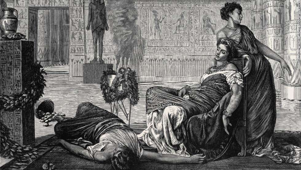 Shakespeare and Elizabeth Taylor immortalized Cleopatra in theater and film, but where is the tomb where Cleopatra was buried with her husband, Mark Antony? An archeologist began a new search in 2009, but he's had no luck so far.