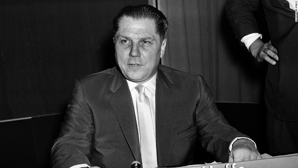 The hunt for the body of Teamsters union leader Jimmy Hoffa is legendary. He disappeared in 1975. Some believed he was killed and buried. Where? That remains a mystery.