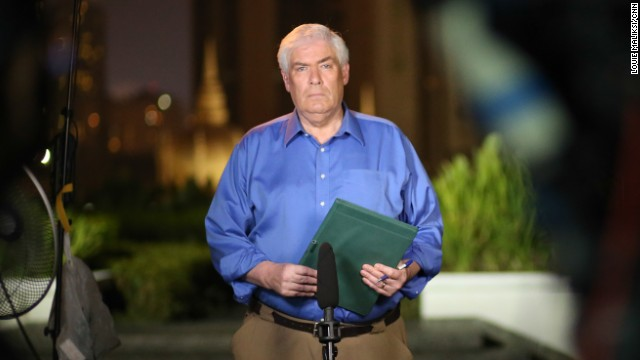 Jim Clancy covers the disappearance of MH370 from Kuala Lumpur