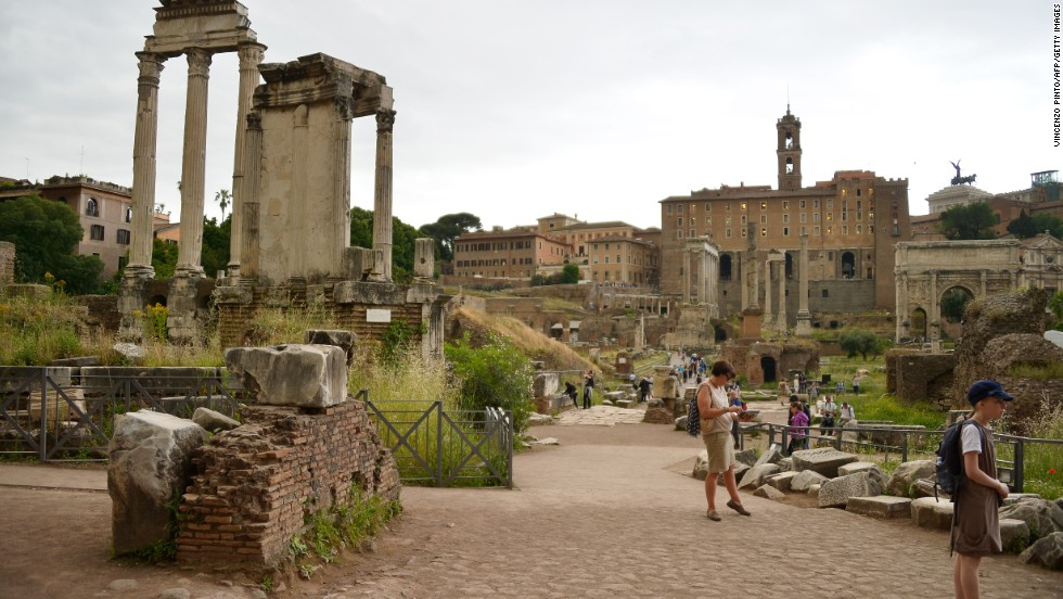 Rome dropped five spots from 2014 to No. 7.