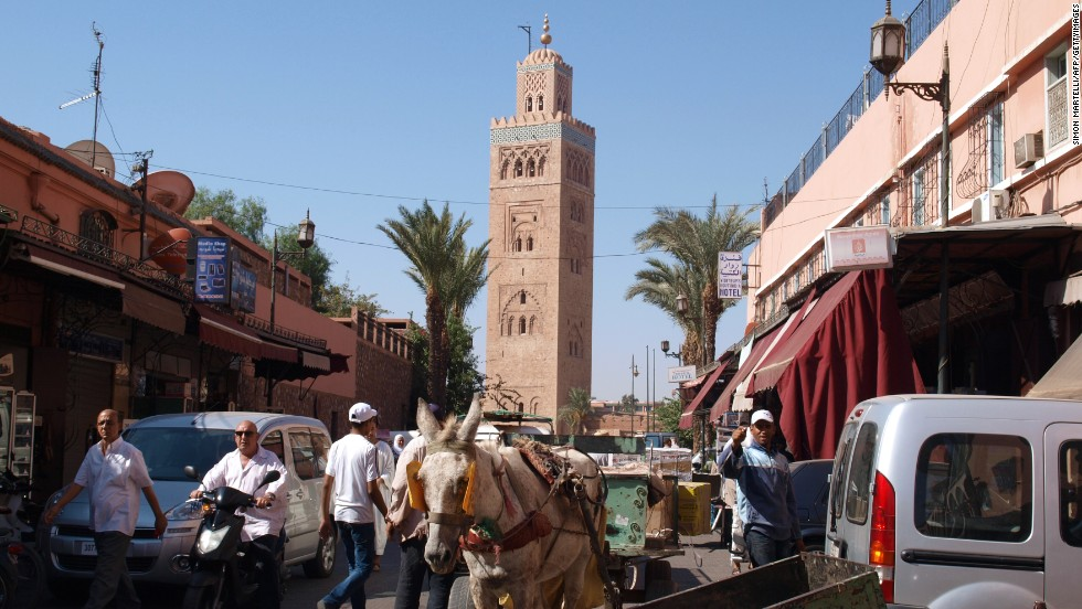 Over the next five years, 13 of the 20 fastest-growing economies in the world are forecast to be in Africa. Morocco's bustling tourist center Marrakesh is in ninth place with 15 residents worth over $30 million.