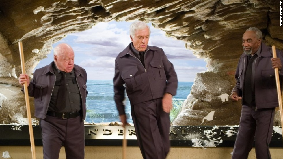 "Rooney appears in 2006's ""Night at the Museum"" with Dick Van Dyke and Bill Cobbs."