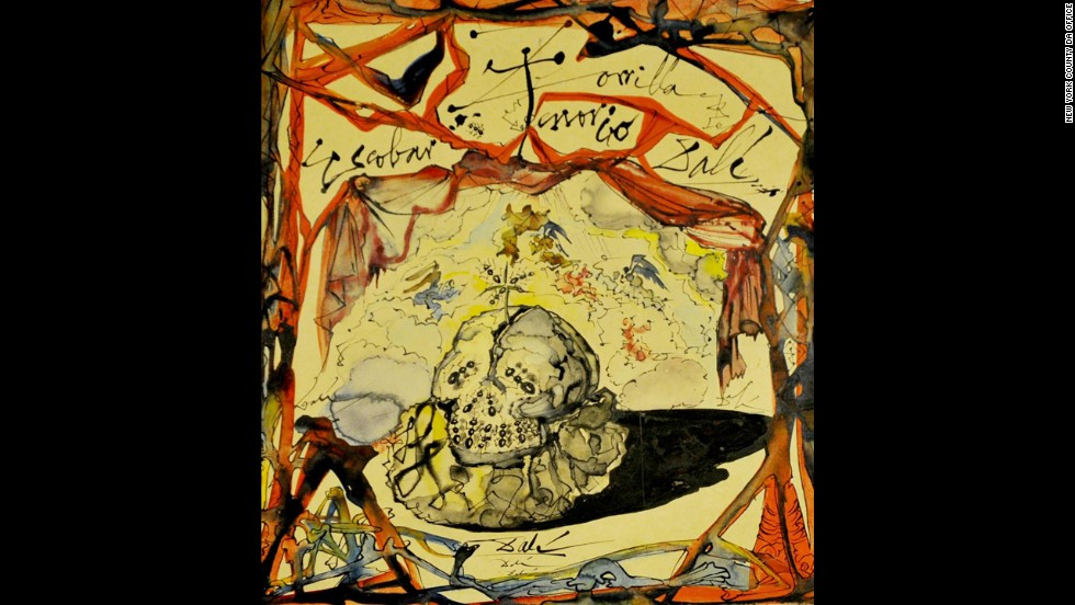 "Eight months after Salvador Dali's ""Cartel de Don Juan Tenorio"" was stolen in a New York gallery, <a href=""http://www.cnn.com/2013/02/19/us/new-york-salvador-dali-painting/index.html"">a Greek national was indicted</a> on a grand larceny charge in 2013."
