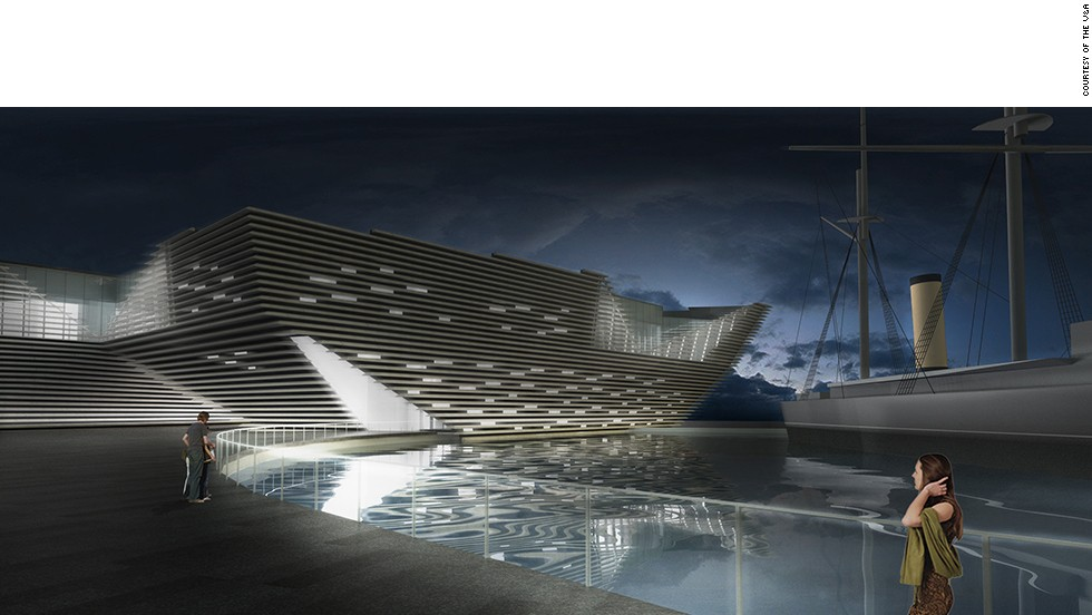 The Victoria and Albert Museum has started construction of the new V&A Dundee in Scotland. Designed by Japanese architect Kengo Kuma, it will be the first design museum in the UK to open outside of London.
