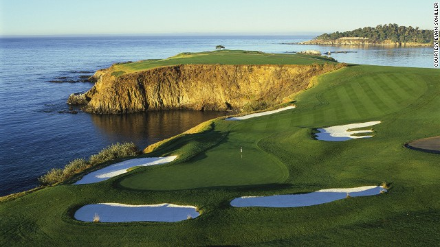 "Jack Nicklaus said: ""If I had only one more round to play, I would choose to play it at Pebble Beach."""