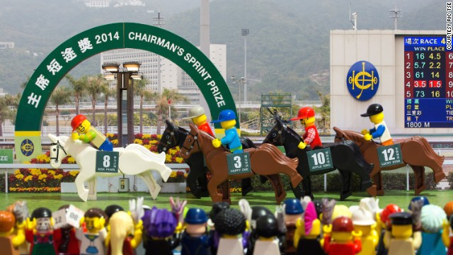 """In """"Victory!"""" Tse commemorates the annual Chairman's Sprint Prize."""