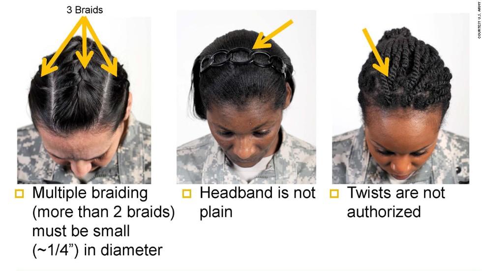 military braid women army s ban on dreadlocks other styles