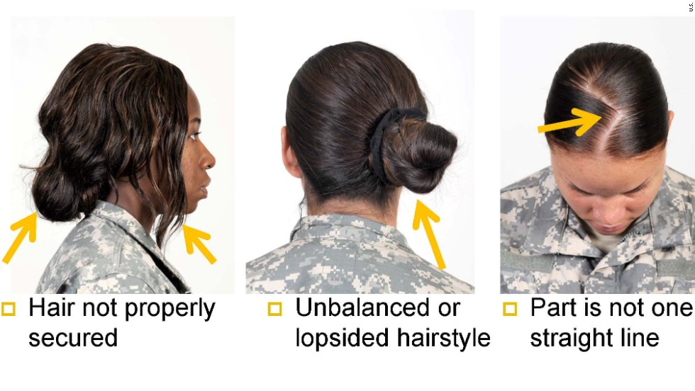 The Army's new guidelines on unauthorized hairstyles has minority women in knots. The Army says the guidelines ensure uniformity. Some black soldiers say the requirements are racially biased.