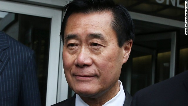 California State Sen. Leland Yee is  one of about two dozen people charged in a sprawling racketeering case.