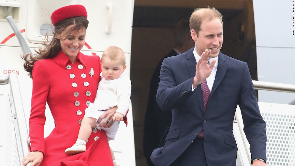 Young Prince George's face says it all. Long flights with kids -- particularly babies -- stomps on any romantic notions of travel being about the journey, not the destination.