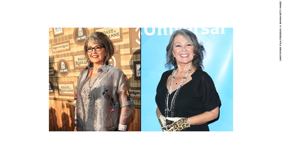 "Roseanne Barr recently showed off a slimmer figure at the 2014 NBCUniversal Summer Press Day in Pasadena, California. The 61-year-old has been delighted by all the attention fans have paid to her new figure and thanked them <a href=""https://twitter.com/TheRealRoseanne/status/453717709348282368"" target=""_blank"">via Twitter. </a>"