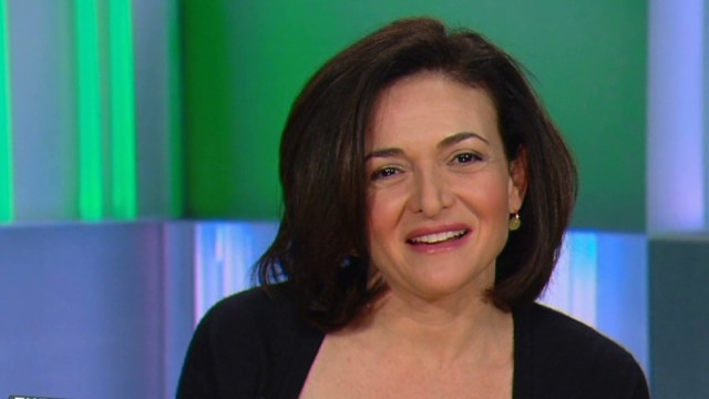 Sheryl Sandberg to graduates: 'Lean In'