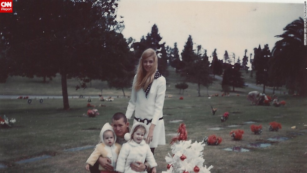 "<a href=""http://ireport.cnn.com/docs/DOC-952187"">Lisa Papworth-Buckland</a>, bottom left, says her mother ""always knew what to dress us up in."""