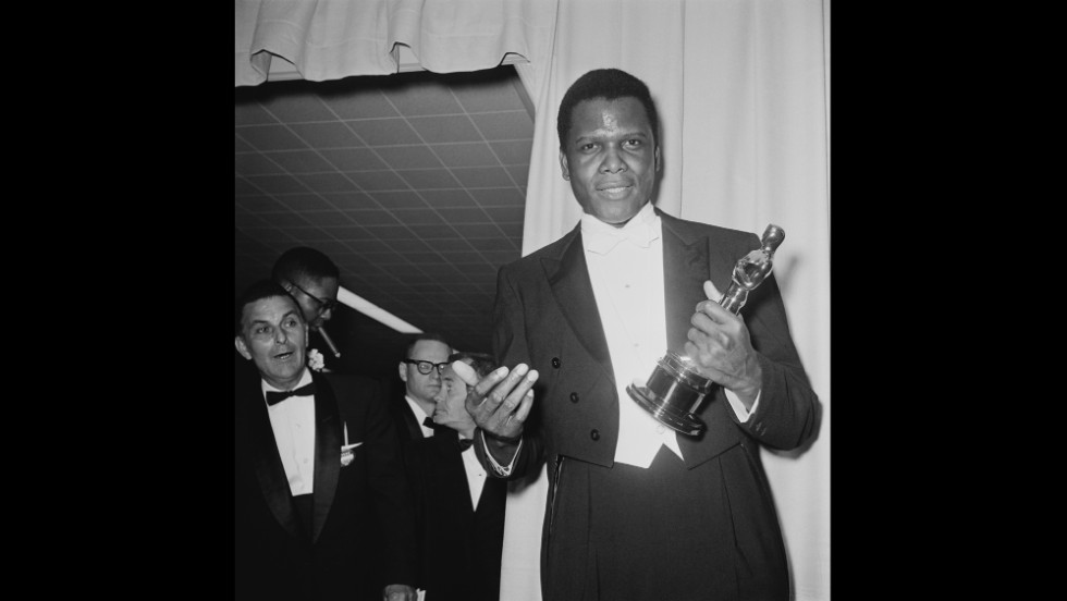 "Sidney Poitier, who turns 90 years old on February 20, became the first black performer to win an Academy Award for best actor in 1964. Poitier, who won the Oscar for his performance in ""Lilies of the Field,"" was one of the biggest box-office stars of the 1960s, and he remains a Hollywood legend. Here's a look back at his film career."