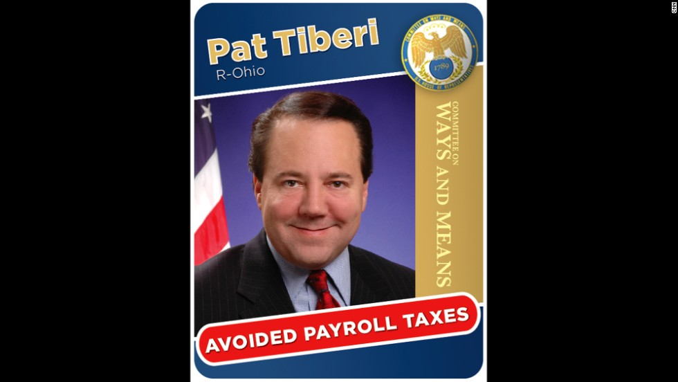 Rep. Pat Tiberi was criticized for not paying employment taxes on his campaign workers during his 2008 and 2010 campaigns. Tiberi<br /> said he followed IRS rules.