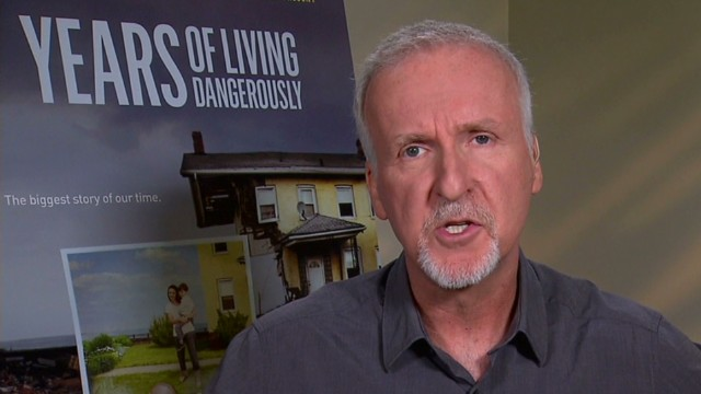 James Cameron tackles climate change