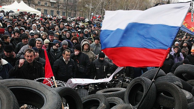 Russian separatists in Donetsk dig in