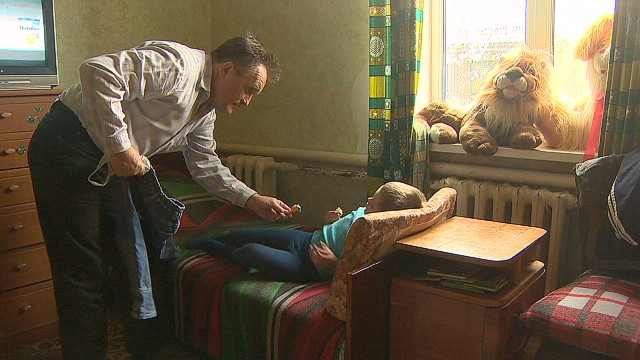 Ukrainian citizens carry cost of conflict