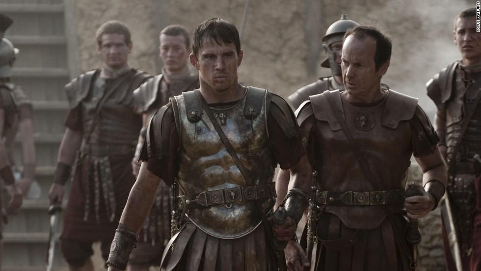 "Channing Tatum, center, is a young Roman soldier in the 2011 film ""The Eagle."""