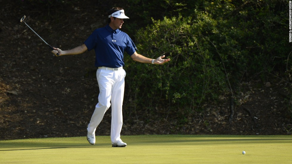 Second-round leader Watson couldn't match his Friday, registering a 74.