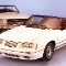 21,mustang.1984 Ford Mustang convertible and 1965 Mustang neg CN38002-671