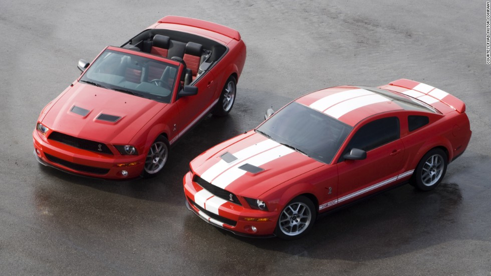 <strong>2007 Ford Shelby GT500.</strong> The rigid chassis and comparable curb weight of the 2007 Shelby GT500 convertible resulted in driving dynamics that closely matched those of the coupe.