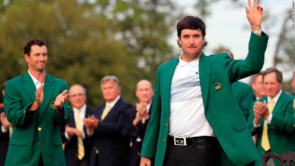 Bubba Watson dons Green Jacket for second time - CNN.com