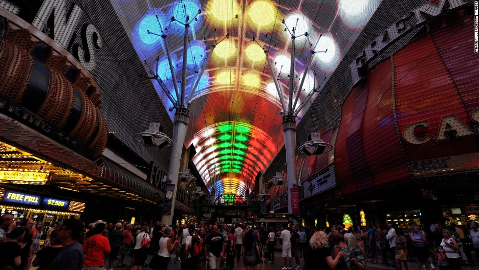 Las Vegas has experienced a renaissance downtown. Fremont Street Experience, a pedestrian mall and concert venue, is a mid-'90s precursor to more recent waves of investment.