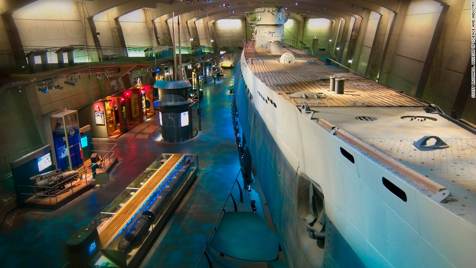 The capture of the German submarine U-505 was led by Chicago native Capt. Daniel Gallery in 1944. It now sits at the Museum of Science and Industry in his hometown.