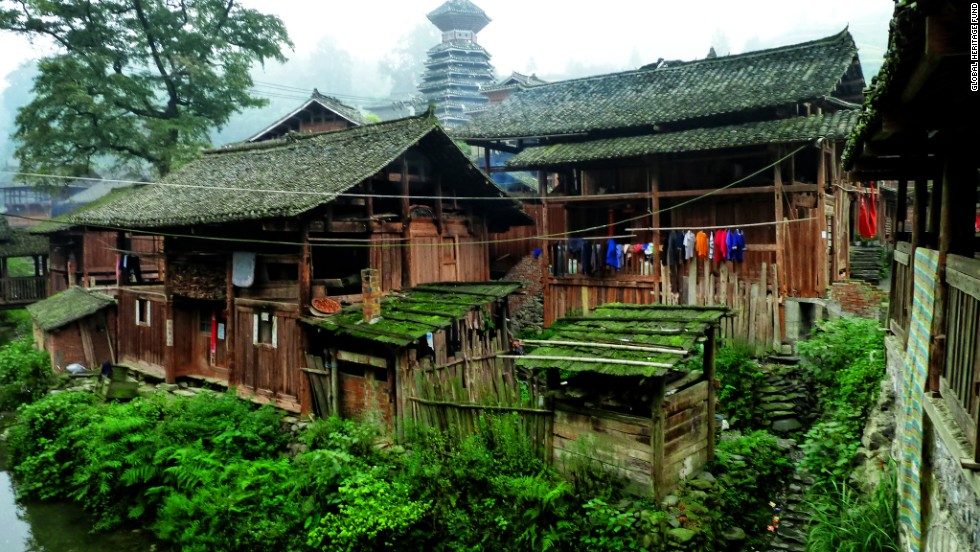 "The Global Heritage Fund's first annual list of endangered sites in the developing world features an eclectic collection of sites around the world. The amazing diversity of China's ethnic minority population is highlighted in the first site: The<a href=""http://globalheritagefund.org/what_we_do/overview/current_projects/guizhou_china"" target=""_blank""> Minority Villages of Guizhou, China</a>. The population of Guizhou is about one-third ethnic minorities, including the Dong and Miao peoples, and many still stick to the old ways of building their wooden stilt homes."