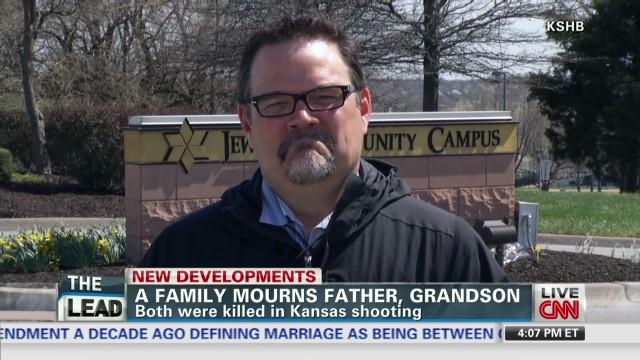Son of shooting victim speaks to CNN
