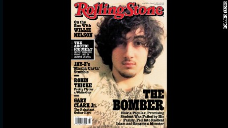 Some people said this Rolling Stone cover glamorized Boston Marathon bomb suspect Dzhokhar Tsarnaev.