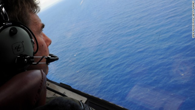 The aerial search for missing Malaysia Air Flight 370 has largely been abandoned as the underwater search continues.