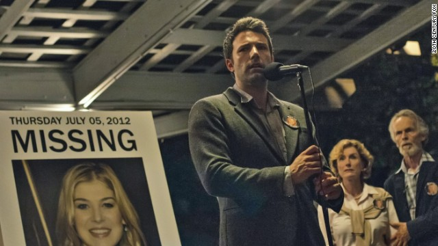 "Ben Affleck stars in the forthcoming thriller ""Gone Girl."""