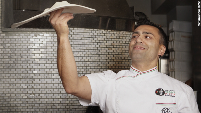 In just his second year at the annual Pizza World Championship, Johnny Di Francesco took home the award for top margherita pizza.