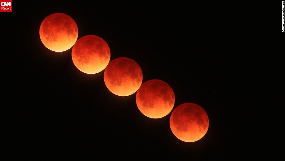"The April 15 blood moon passes over Port Orange, Florida, in this time-lapse image from <a href=""http://ireport.cnn.com/docs/DOC-1120659"">Kenneth Ngyuwai</a>."