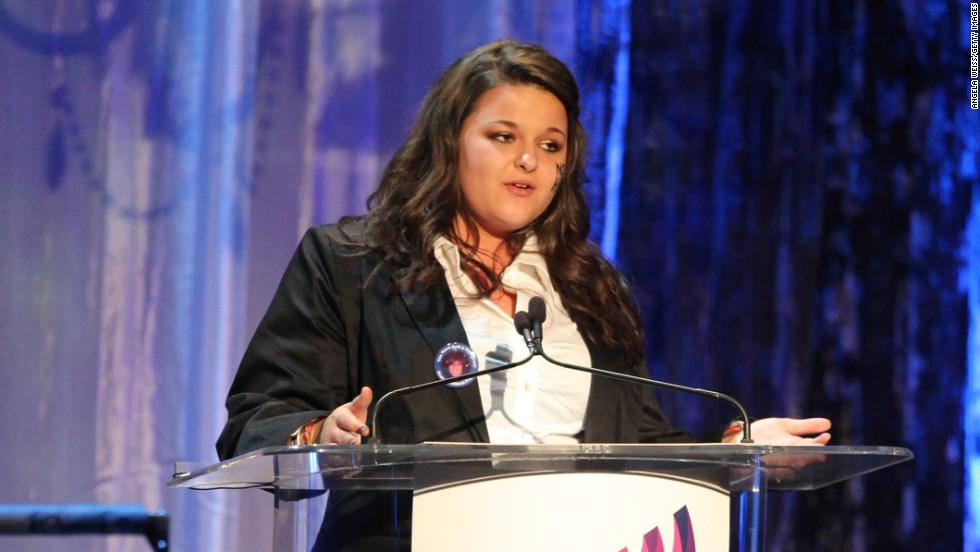 "<a href=""http://www.cnn.com/2010/LIVING/03/11/mississippi.prom.suit/"">Constance McMillen</a>, seen here at the 21st Annual GLAAD Media Awards in 2010, wanted to take her girlfriend to the Itawamba Agricultural High School prom in Fulton, Mississippi, and she wanted to wear a tux to the dance. In reaction to McMillen, the high school canceled its 2010 prom."