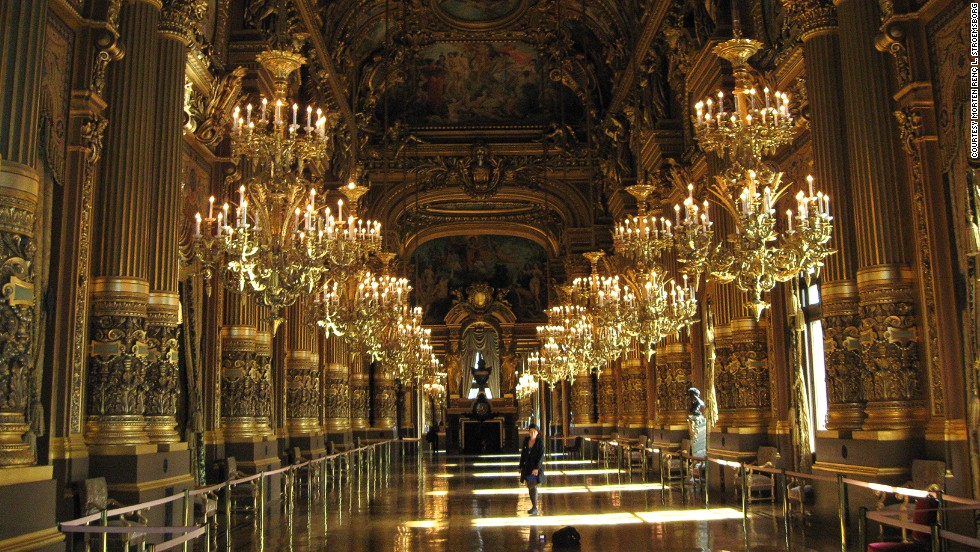 A person was killed when a counterweight from a six-ton crystal chandelier crashed through the ceiling in 1896.