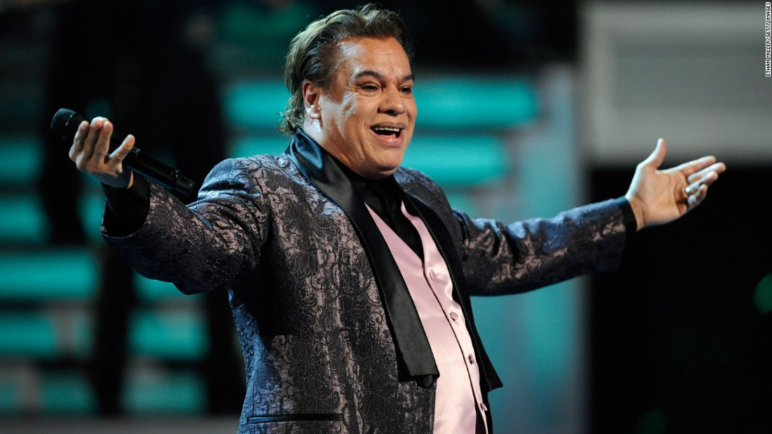 "Mexican music icon<a href=""http://www.cnn.com/2016/08/28/entertainment/latin-american-music-icon-juan-gabriel-dead/index.html""> Juan Gabriel, </a>who wooed audiences with soulful pop ballads that made him a Latin American music legend, died August 28 at the age of 66."